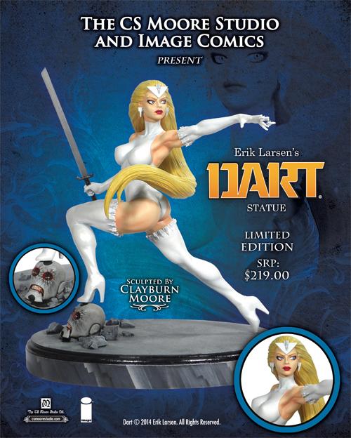 Dart Statue